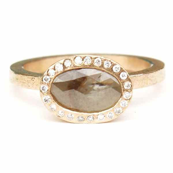 R481 rose gold oval