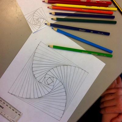 Mathematical Art Lessons