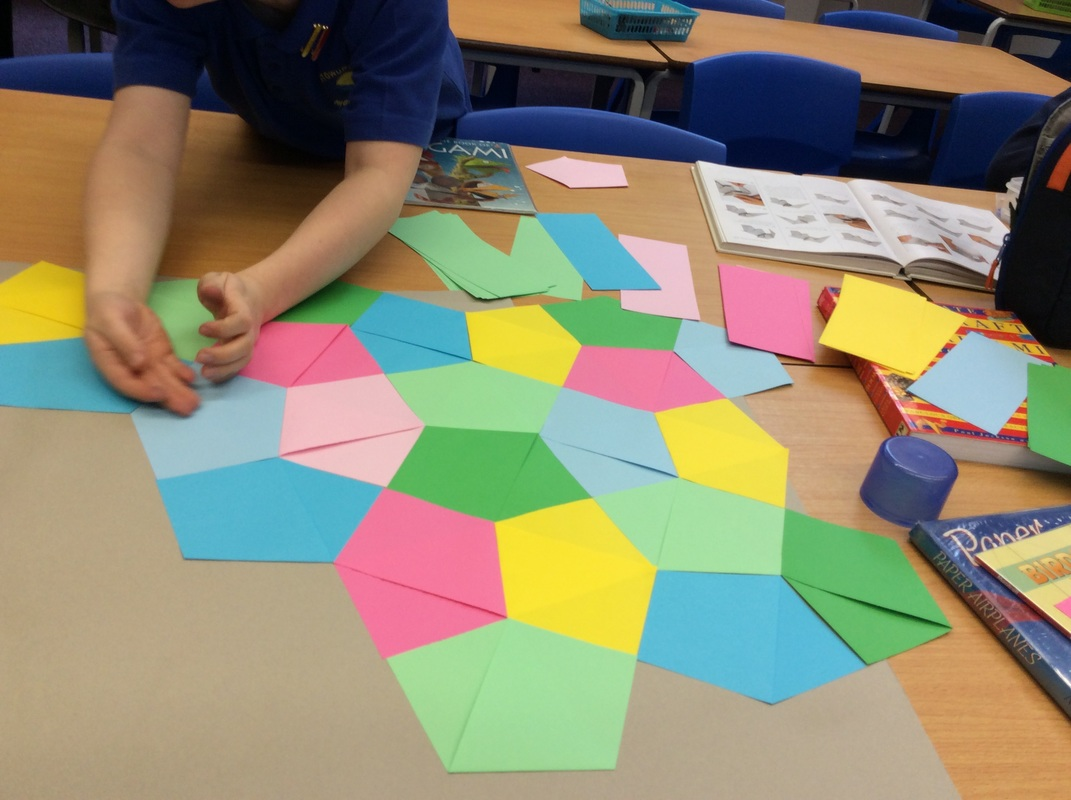 Teaching Fractions With Origami