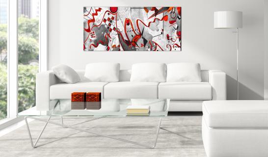 Toiles Murales Contemporain Decouvrez Une Collection Des Decorations Modernes Pour Votre Salon