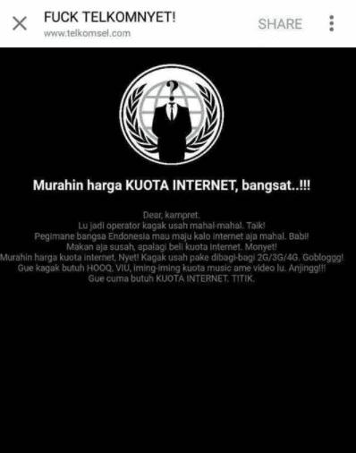 Hack Deface Web Telkomsel.com