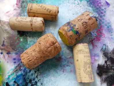 Mark Making Corks