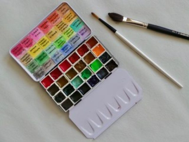 Travel Watercolour Set