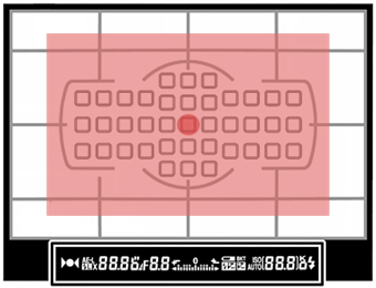 Pozlama ölçüm modları, matris (değerlendirmeli) ölçüm