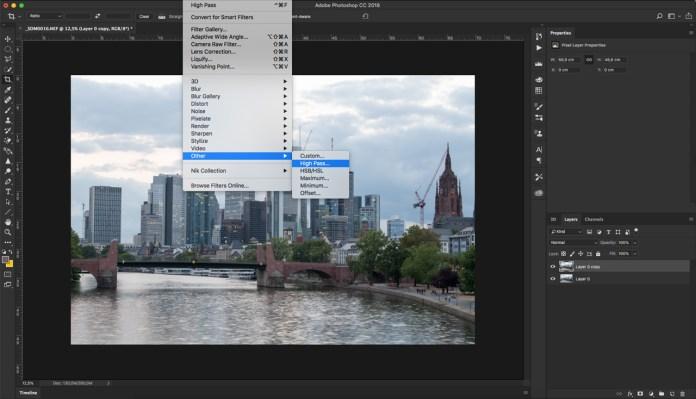Photoshop High Pass Filtre Kullanımı ve Çok Keskin Görüntüler