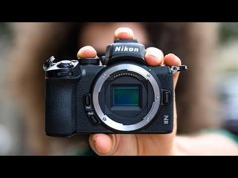 Nikon Z50 anons edildi