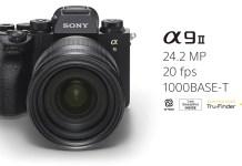 Sony, Alpha a9 II modelini satışa sundu