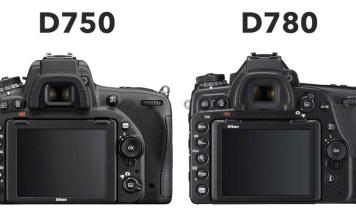 Nikon D750 ve D780 karşılaştırma