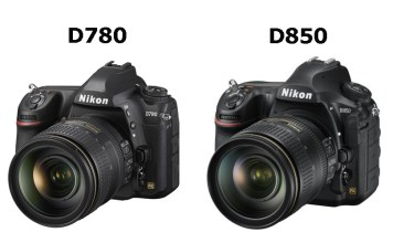 Nikon D780 ve D850 karşılaştırma
