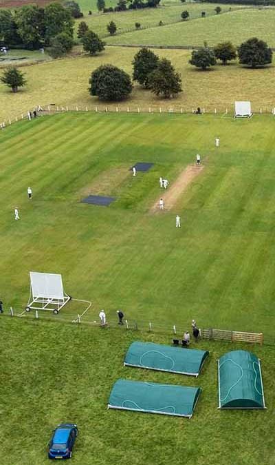 Drone Footage of Arthington Cricket Club