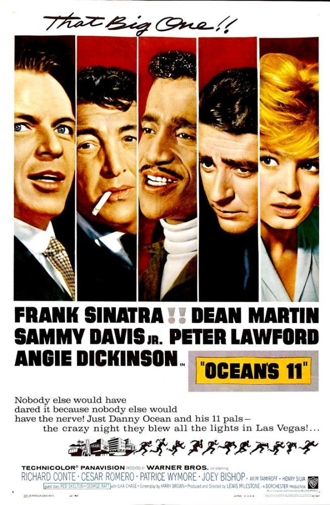 ocean s eleven movie poster