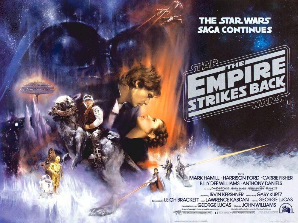 star wars episode v the empire strikes back movie poster