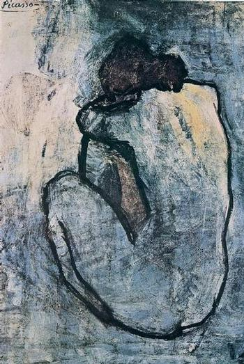 Pablo Picasso, Blue Nude, ca.1902