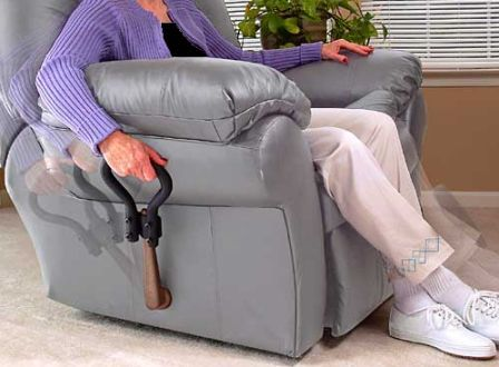 Recliner Lever Extension By Stander Places Handle Within Easy Reach