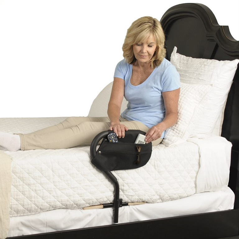 Bed Cane Transfer Handle By Stander Helps Get Out Of Bed