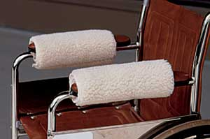 Wheelchair Armrest Covers By Hermell Comfortably