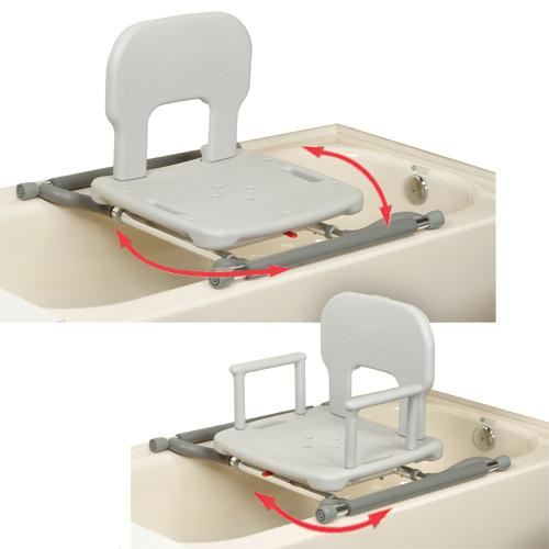 Tub Mounted Swivel Shower Chair