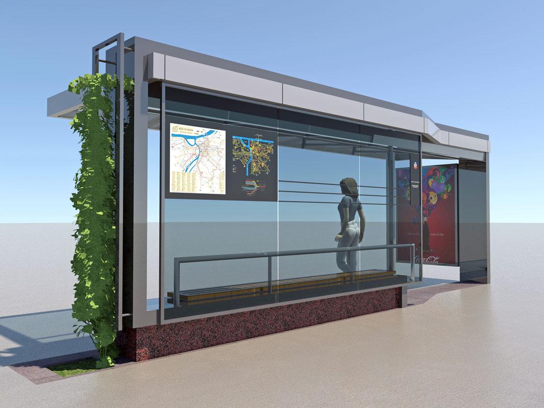 Bus Stop At Vukov Spomenik Replacement Design Arths