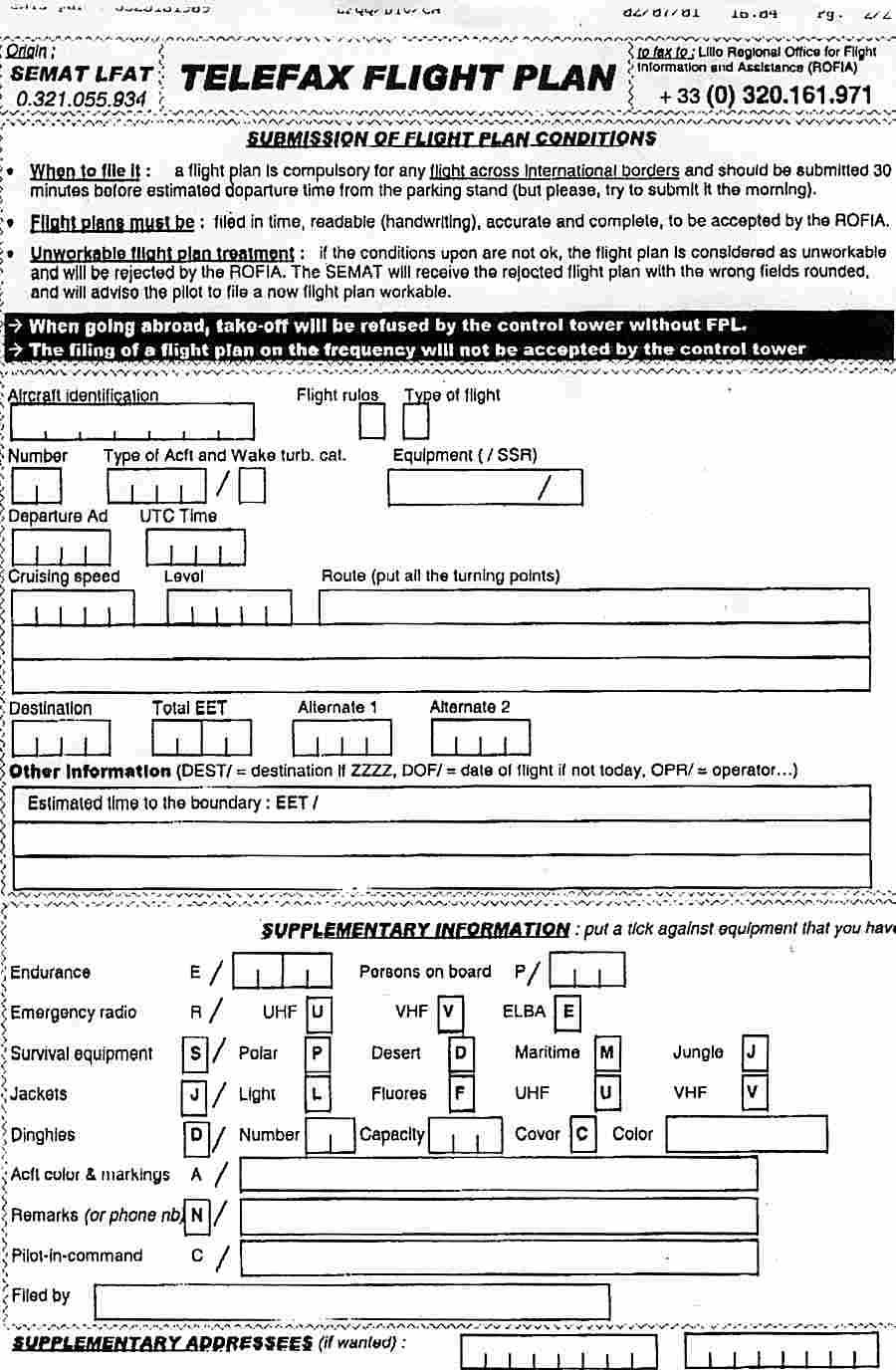 photograph regarding Asa Flight Planner Printable known as Vfr Flight Application Template. stefan wordt piloot