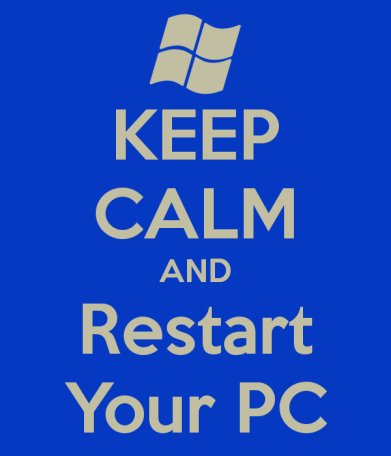 Image result for computer restart