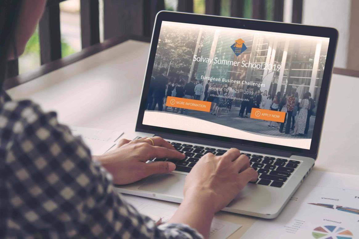 Solvay Business School - Website Project