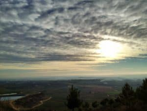 Summoning up positive emotions: an amazing view of the Plain of Lleida