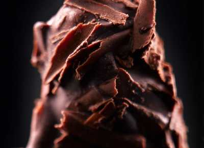 photographe culinaire : truffes en chocolat