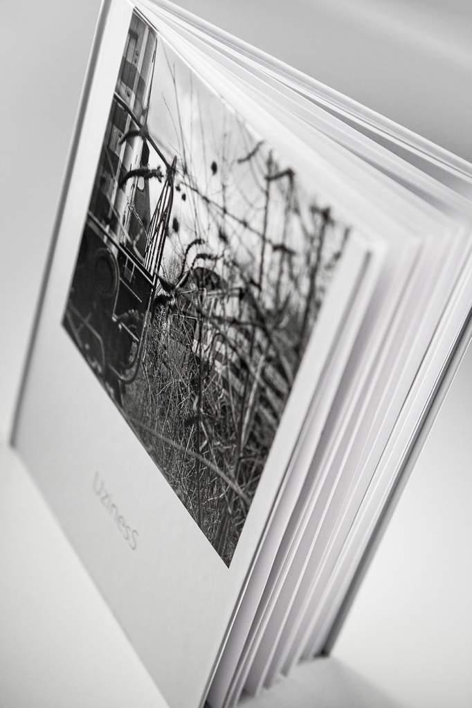 photographe reportage urbex : livre uziness - couverture