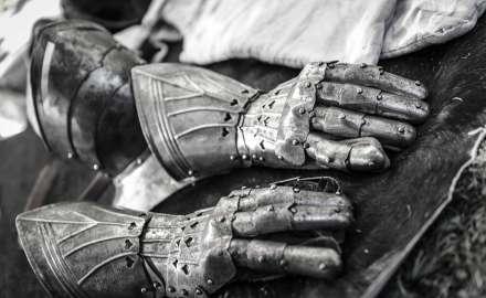 photographe reportage : armure médiéval