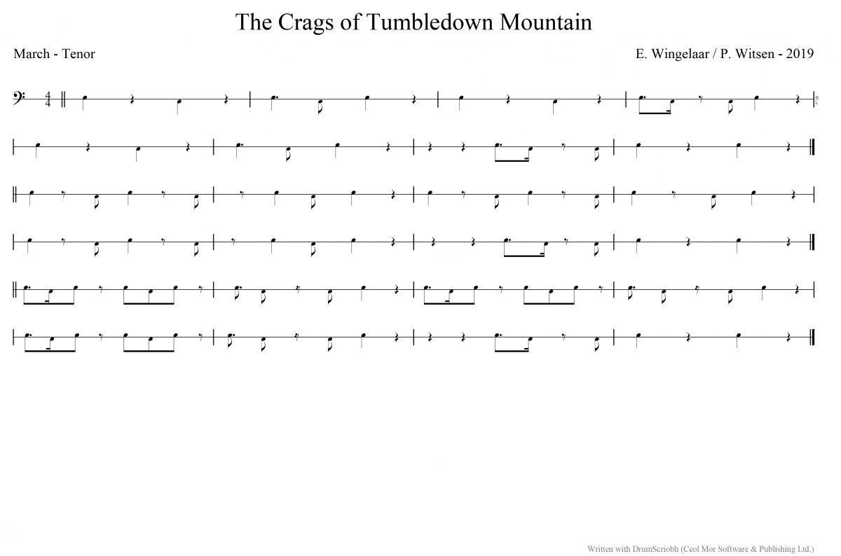 The Crags of Tumbledown Mountai