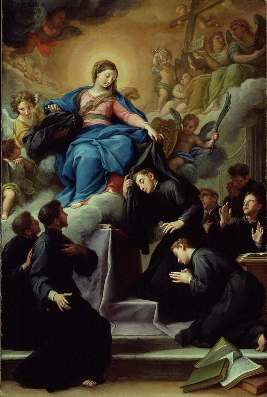 The Madonna With The Seven Founders Of The Servite Order
