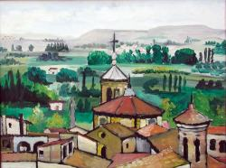 """""""Torres de la Merced"""". Carlos Gorrindo. 40x30 cms. Impresión digital."""