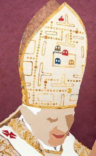 """Benedetto Papacman"". Daniel Esteban. Collage"