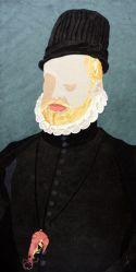 """Rey Gambón"". Daniel Esteban. Collage"