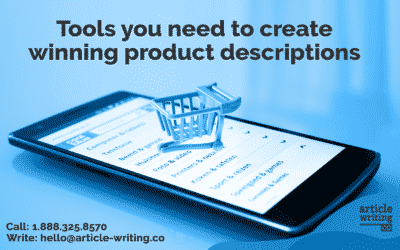 Tools to Create a Winning Product Description