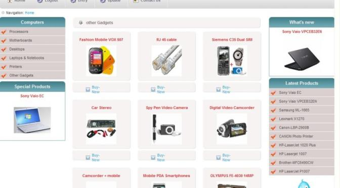 E commerce website major project