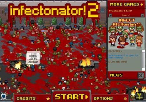 Free browser games: Infectonator 2