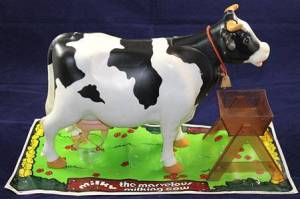 Craziest vintage toys: Milky the marvelous milking cow