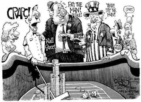 American economics: Gambling with the economy
