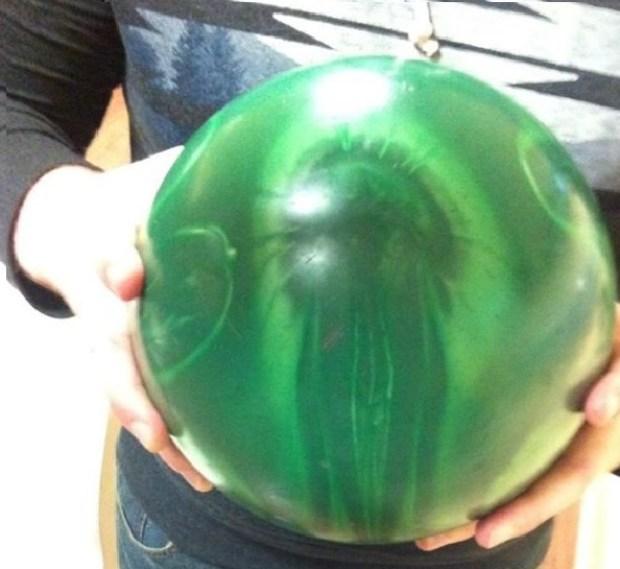 Cthulhu bowling ball