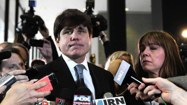 Convicted Illinois Governor Rod Blagojevich