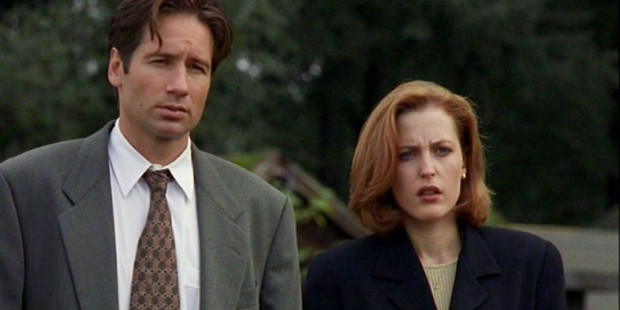 X Files Home Mulder and Scully