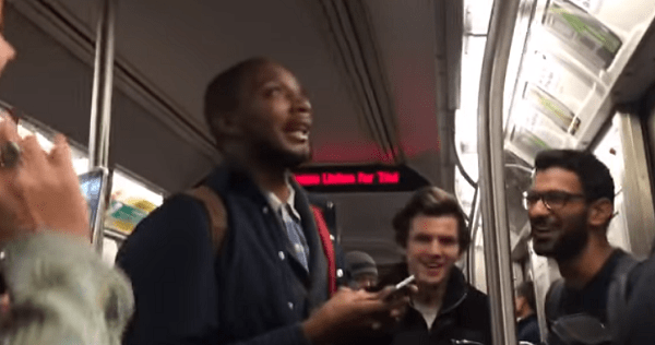 Viral Video: Stuck On The Train Dance Party