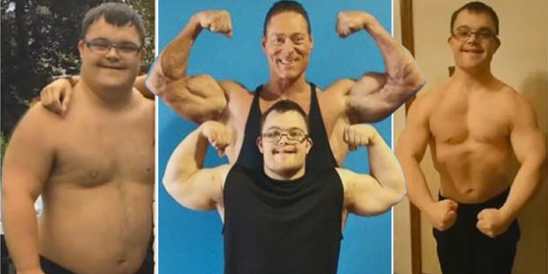 Man with Down Syndrome Takes Bodybuilding by Storm