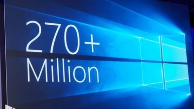 Windows 270 million
