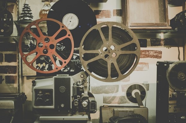 Photo of movie projector