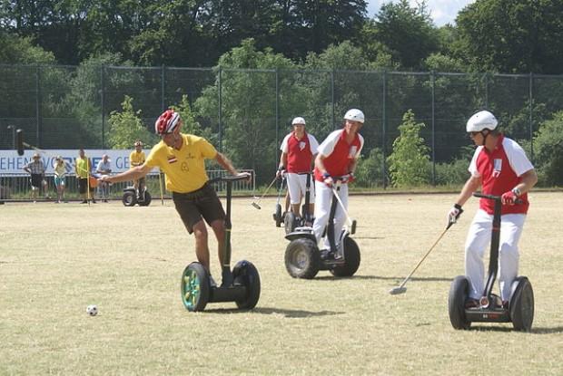Photo of Segway Polo match