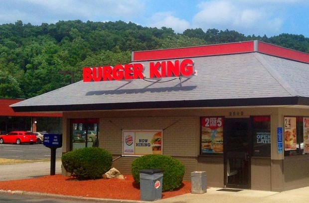 Photo of Burger King restaurant