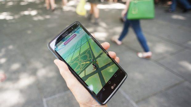 Pokemon Go phone app