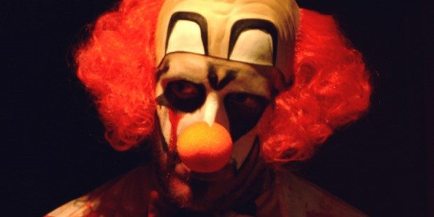 Photo of scary clown